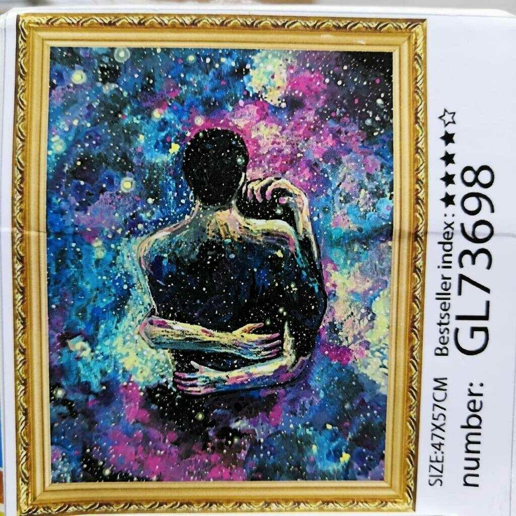 Алмазная мозаика без подрамника 40*50 см GL73698