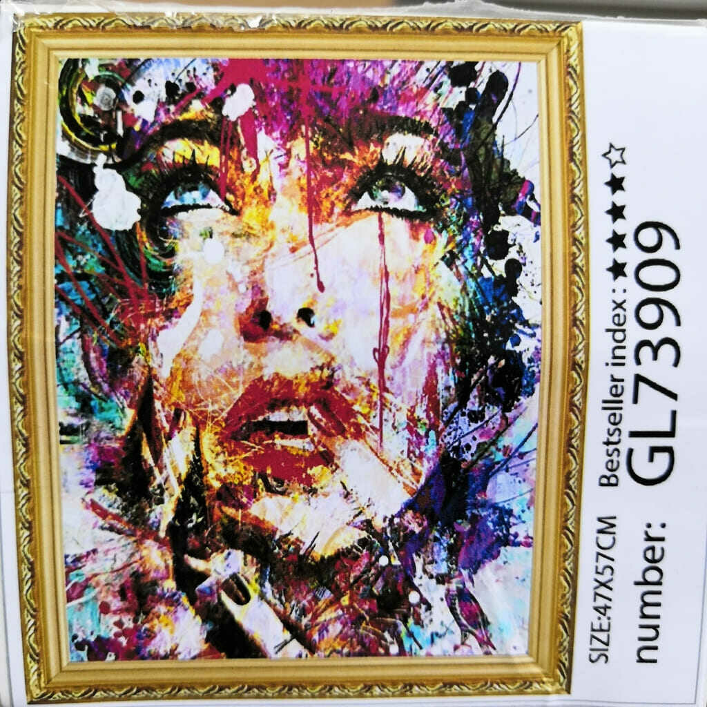 Алмазная мозаика без подрамника 40*50 см GL73909