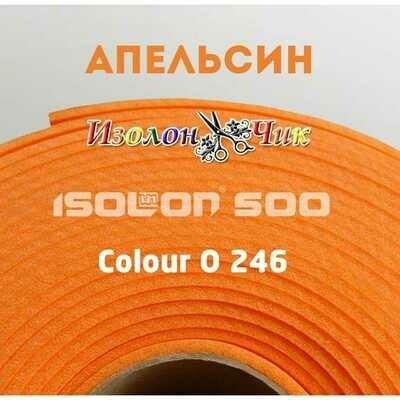 Изолон ППЭ 2 мм Апельсин (O246) - ширина 75 см