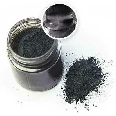 Металлический пигмент ЧЁРНЫЙ для эпоксидной смолы (10 г)