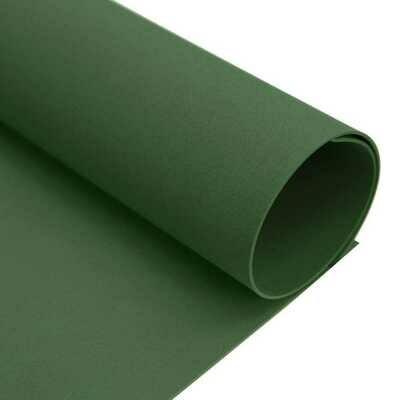 Фоамиран ЗЕФИРНЫЙ 2 мм 50х50 см (Темно-зеленый)