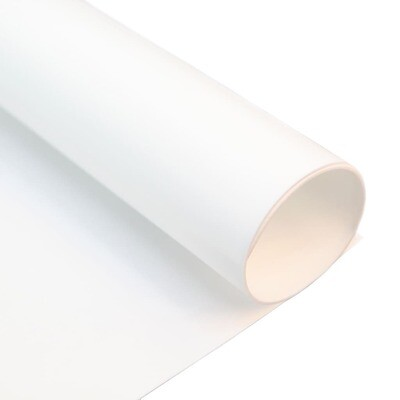 Фоамиран ЗЕФИРНЫЙ 2 мм 50х50 см (Белый)