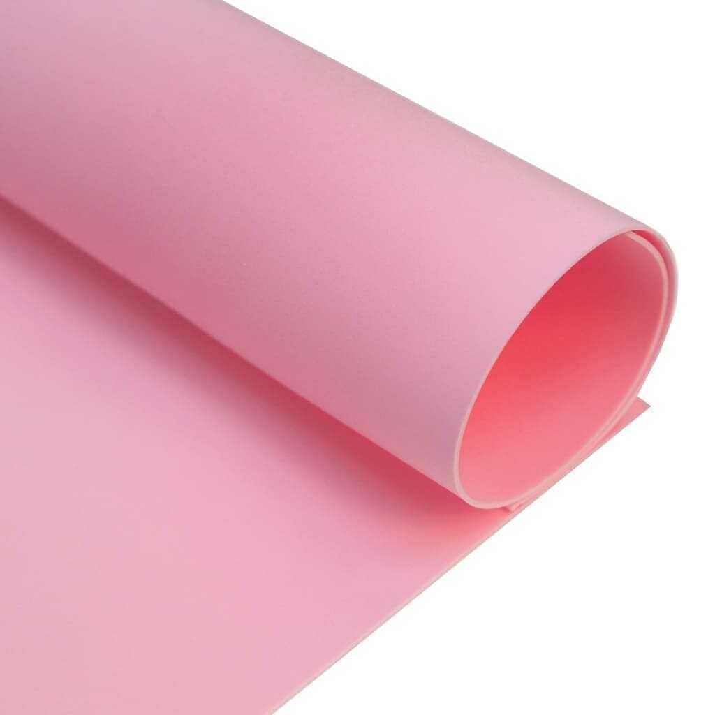 Фоамиран ЗЕФИРНЫЙ 2 мм 50х50 см (Холодный-розовый)