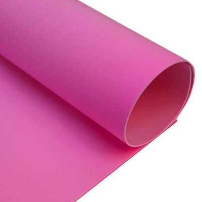 Фоамиран ЗЕФИРНЫЙ 2 мм 50х50 см (Ярко-розовый)