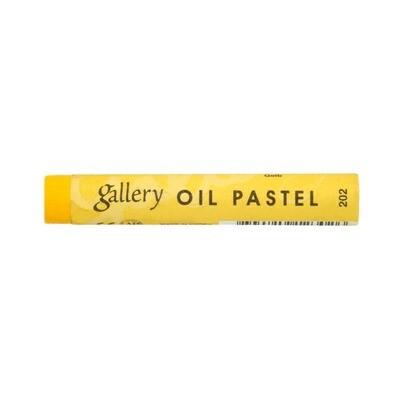 Пастель масляная мягкая MUNGYO Gallery #202 Жёлтый