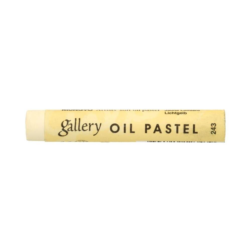 Пастель масляная мягкая MUNGYO Gallery #243 Бледно-жёлтый