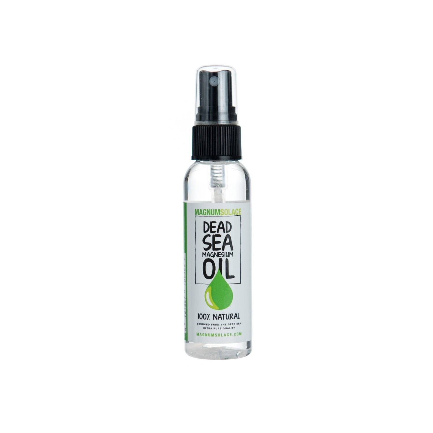 Magnesium Oil Spray Traveler Size 60 ml (2 oz)