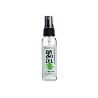 Case of 24: Magnesium Oil Spray Traveler Size 60 ML (2 OZ)