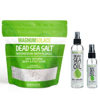 Starter Bundle: Magnesium Bath Flakes + Magnesium Oil
