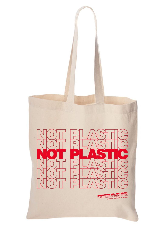 NOT A PLASTIC BAG