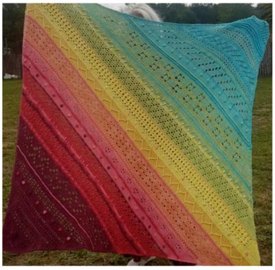 Kaleidoscope CAL Blanket Pattern
