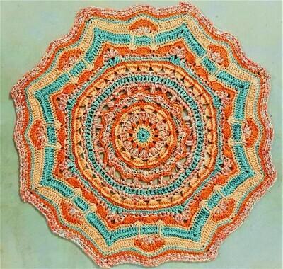 MoYa Solitaire Table Centre Piece Pattern