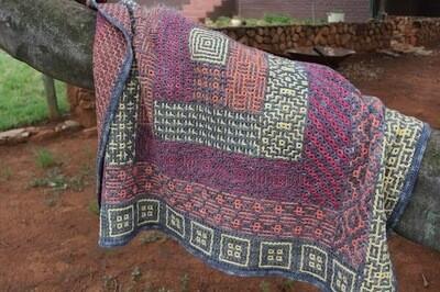 Hilda Steyn - Log Cabin Interlocking Crochet Kit