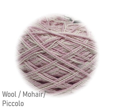 Wool / Mohair / Piccolo Ball - 85gr - Sale