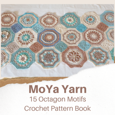 MoYa Yarn Octagon Crochet Pattern Ebook