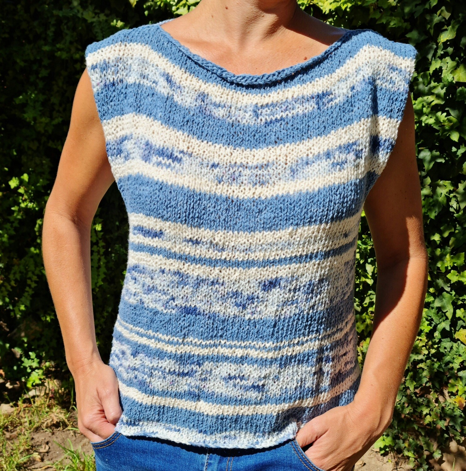 Una Knitted Top Kit