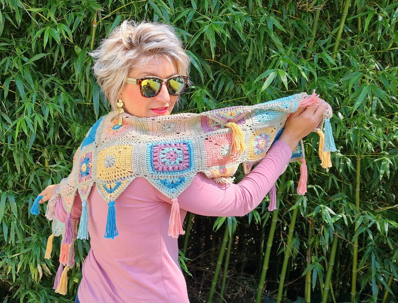 Gypsy Scarf Crochet a Long Kit