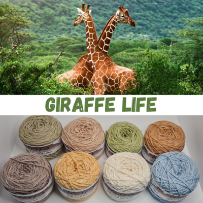 Giraffe Life Double Knit Palette