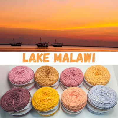Lake Malawi Double Knit Palette
