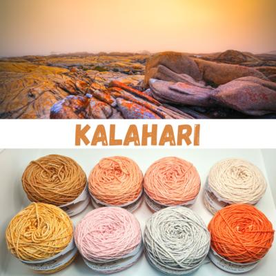 Kalahari Double Knit Palette