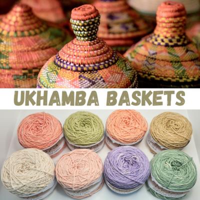 Ukhamba Baskets Double Knit Palette