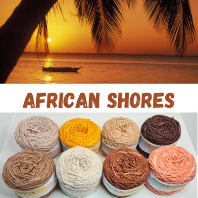 African Shores Shimmer Palette