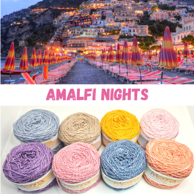 Amalfi Nights Shimmer Palette