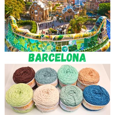 Barcelona Shimmer Palette