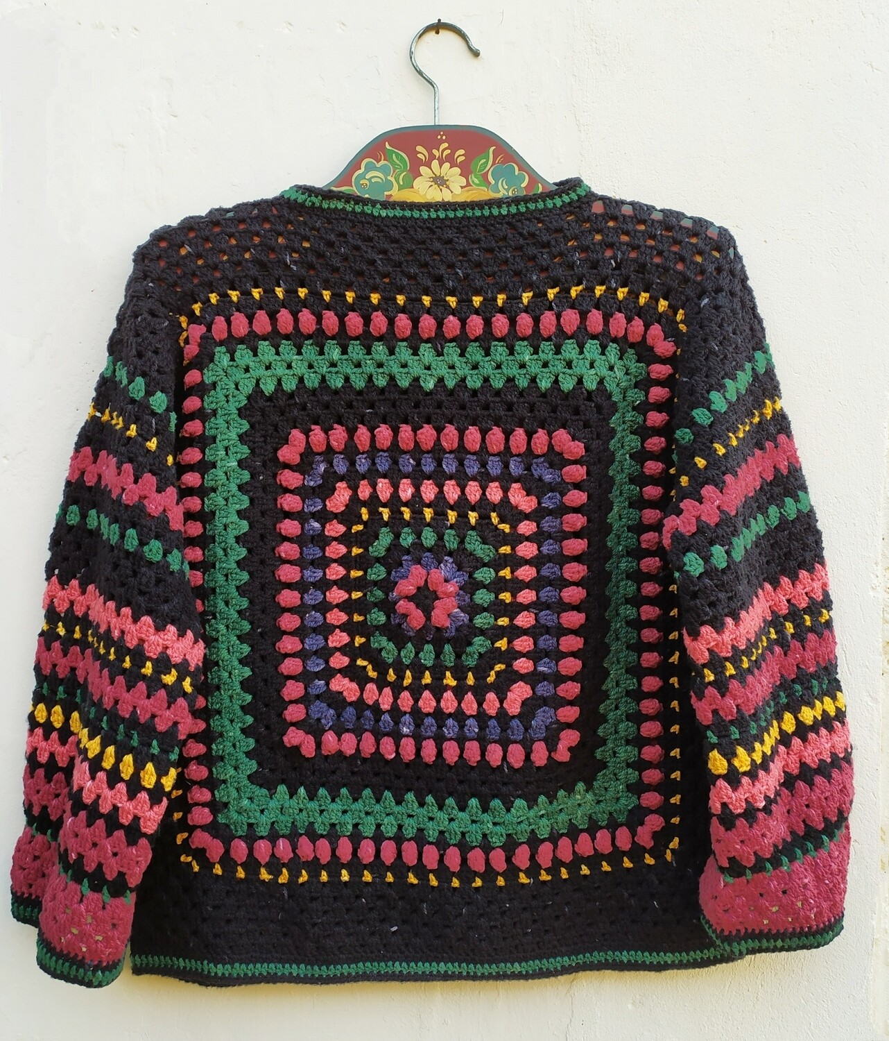 Berry Blossom Sweater Designed by Crazy Crochet Girl