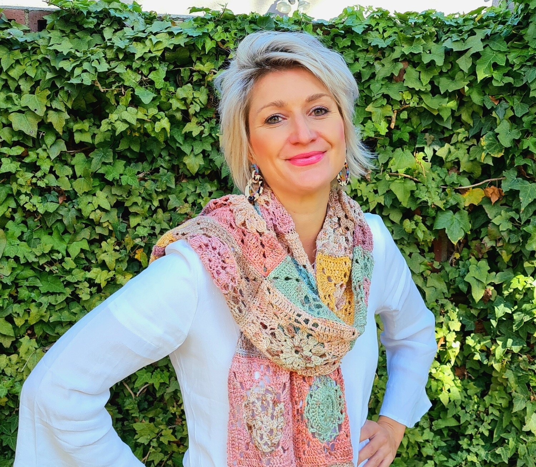 Dotty Scarf Crochet Kit