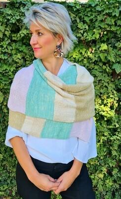 Evonne Knitted Wrap Kit