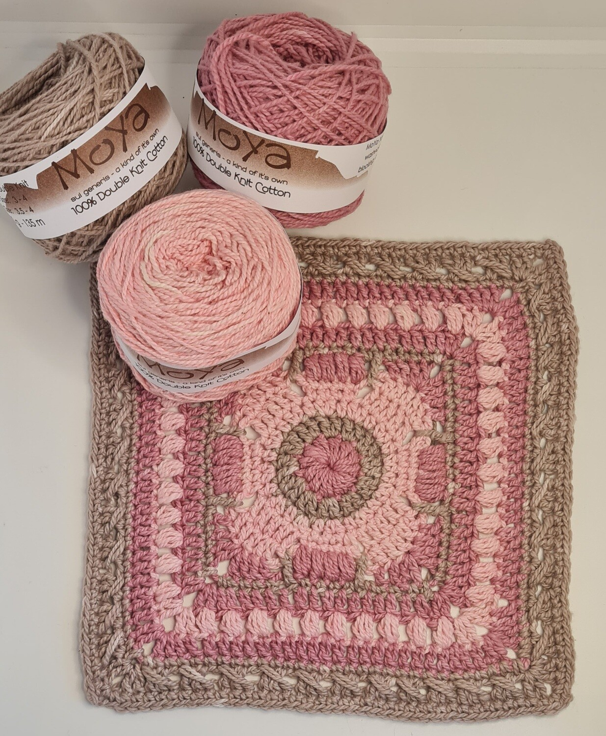 Crochet is my Happy Place Block-A-Day