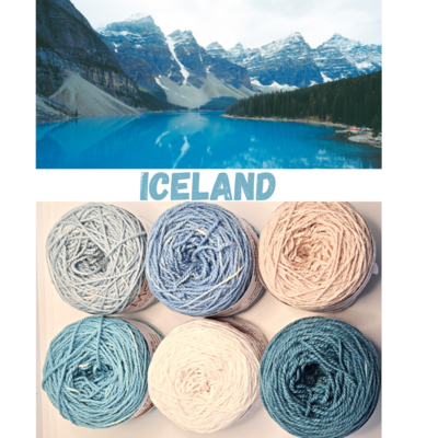 Iceland Double Knit Palette