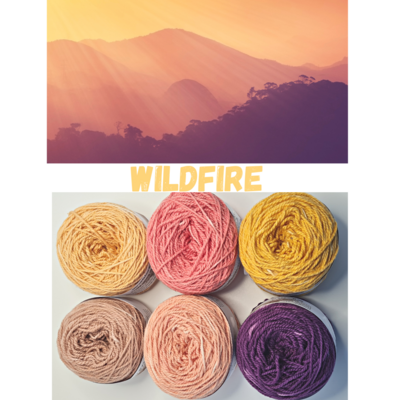 Wildfire Double Knit Palette