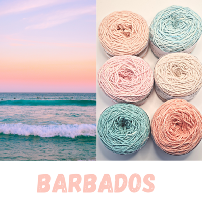 Barbados Double Knit Palette