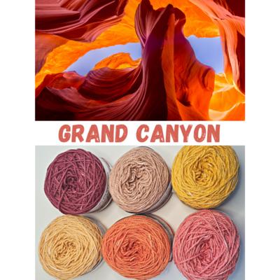 Grand Canyon Double Knit Palette