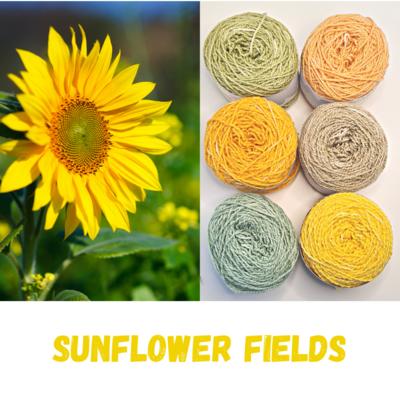 Sunflower Fields Shimmer Palette