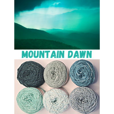 Mountain Dawn Shimmer Palette