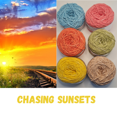 Chasing Sunsets Double Knit Palette