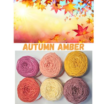 Autumn Amber Shimmer Palette