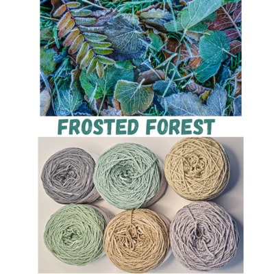 Frosted Forest Double Knit Palette