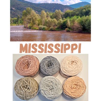 Mississippi Double Knit Palette