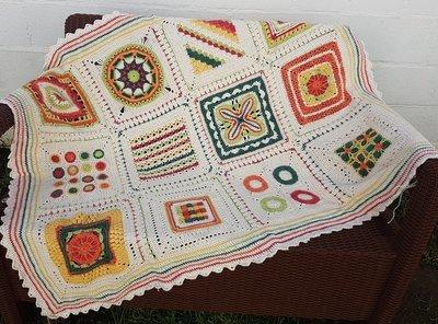 MoYa Whimsical Blanket Pattern