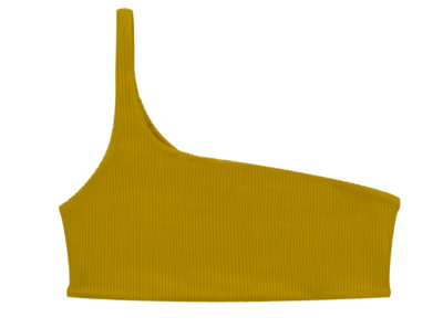 Mustard One Should Bikini Top