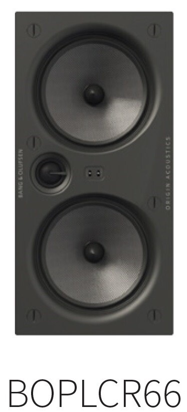 "Palatial BOP LCR 66, 2way 2x6,5"" (1 speaker per box)"