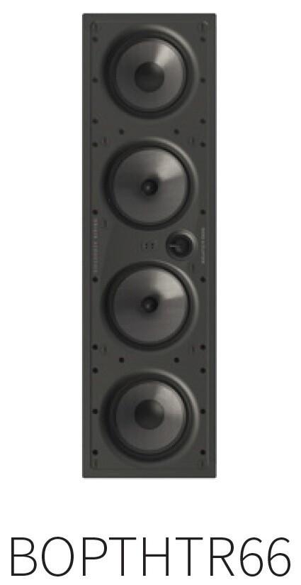 """Palatial BOP THTR 66, 3way 4x6,5"""" (1 speaker per box)"""