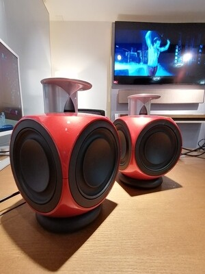 Beolab 3 in Rot (Paar)
