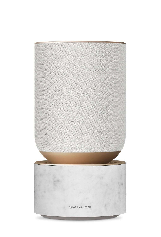 Beosound Balance mit Google Assistant - Gold & Marmor