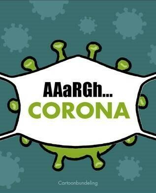 Cartoonbundeling corona