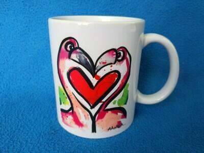 Love Flamingos - AAaRGh Art Collectie